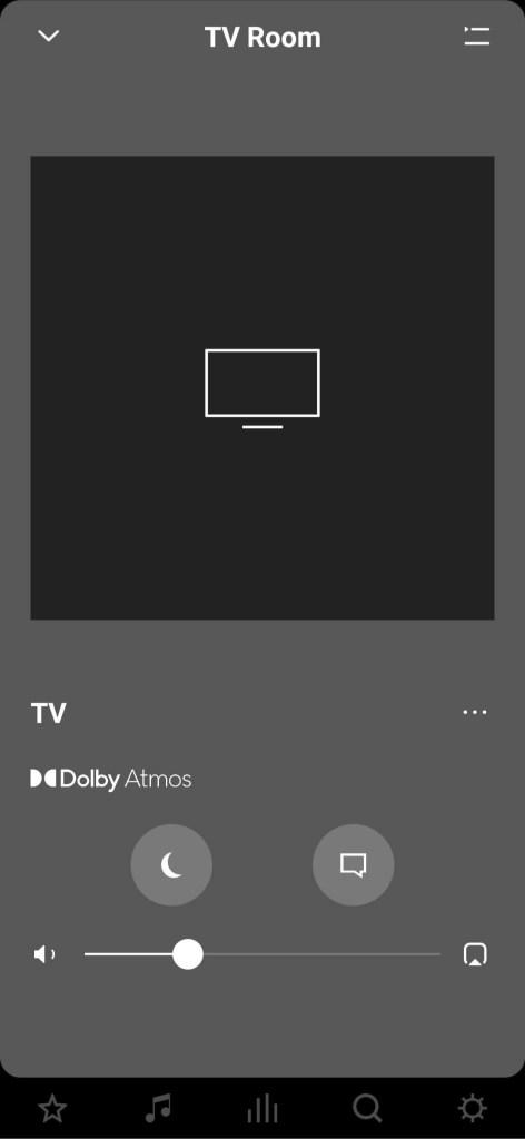 אפליקציית Sonos. צילום מסך