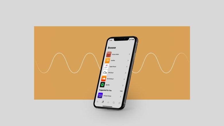 """אפליקציית Sonos. צילום יח""""צ"""