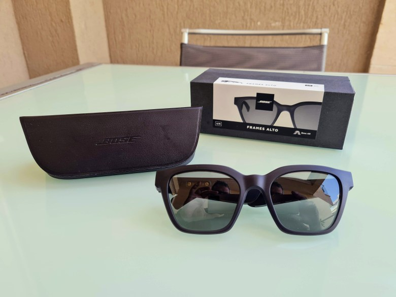 Bose Frames. צילום צחי הופמן