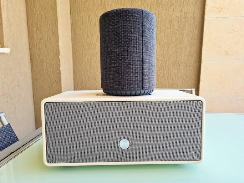 רמקולים של audio pro. צילום צחי הופמן