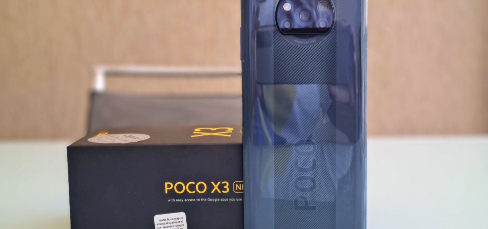 Poco X3. צילום צחי הופמן