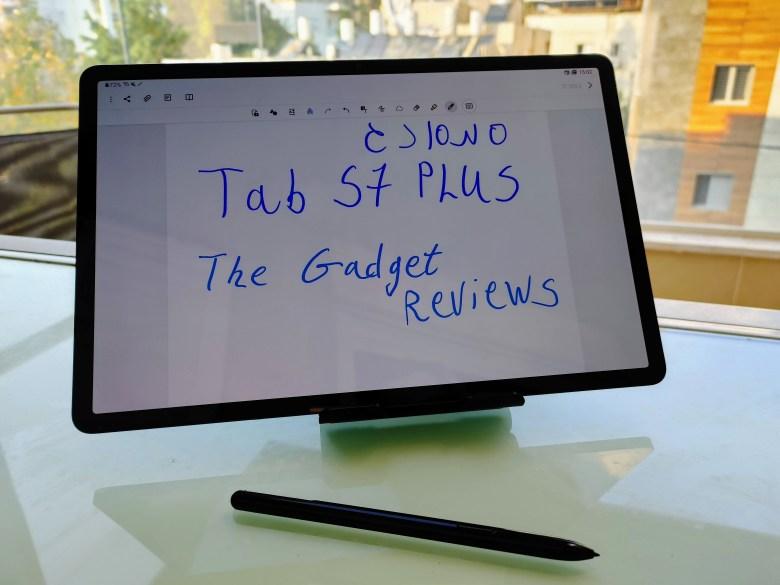 סמסונג Tab S7 Plus. צילום צחי הופמן