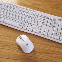לוג'יטק - Silent Wireless Combo MK295. צילום צחי הופמן
