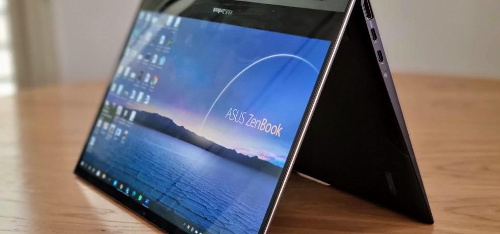 אסוס - ZenBook Flip S. צילום צחי הופמן