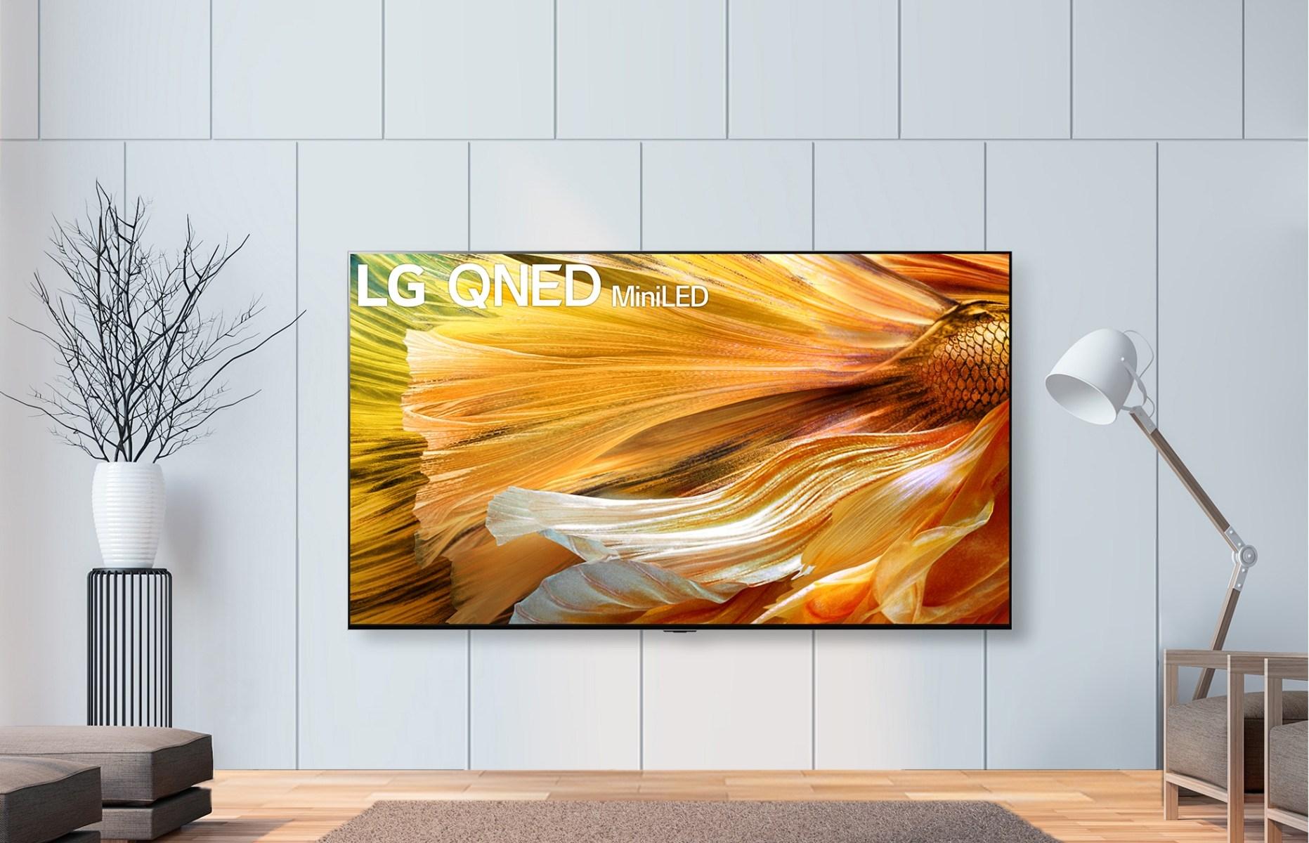 "LG 8K QNED Mini LED. צילום יח""צ"