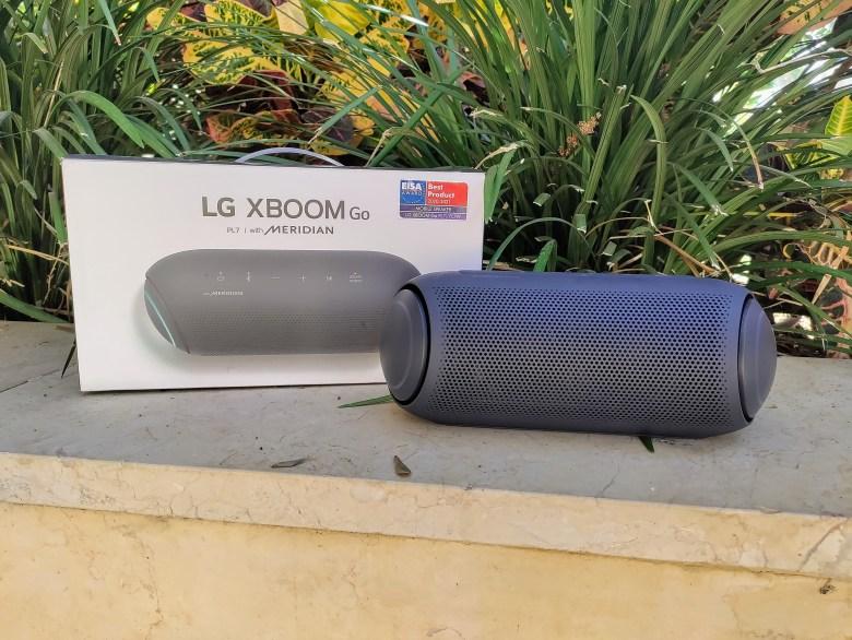 LG XBoom Go PL7. צילום צחי הופמן