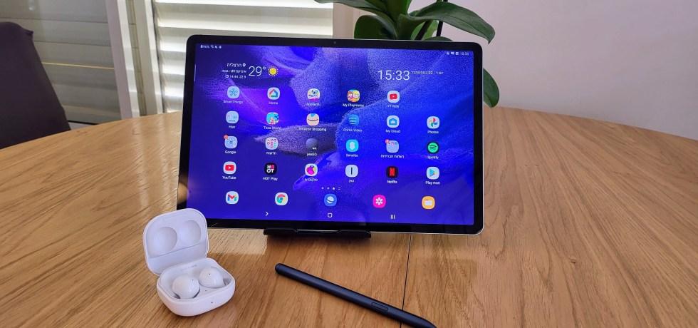 סמסונג Galaxy Tab S7 FE. צילום צחי הופמן