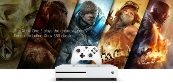 Official: Microsoft Xbox One S with 4K Video Support and New Wireless Controller
