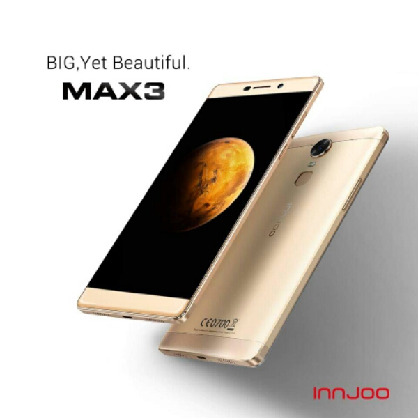 The Max 3 is confirmed to be available in three models - Innjoo Max 3 3G, Innjoo Max 3 LTE and Innjoo Max 3 Pro LTE,