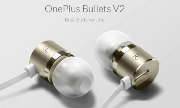 OnePlus Bullets V2 In-Ear Earphones costs $19.95