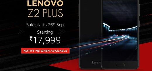 Lenovo Z2 Plus is the ZUK Z2 For India