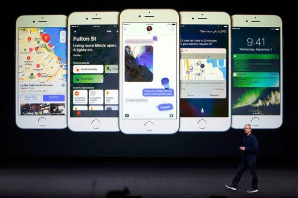 Apple iOS 10 and macOS Sierra Release Dates Announced
