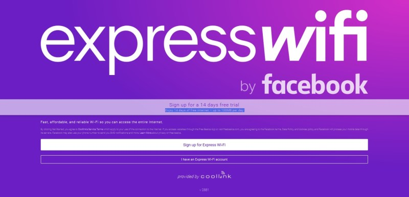 Express Wi-Fi by Facebook Coolink Nigeria Data Plans
