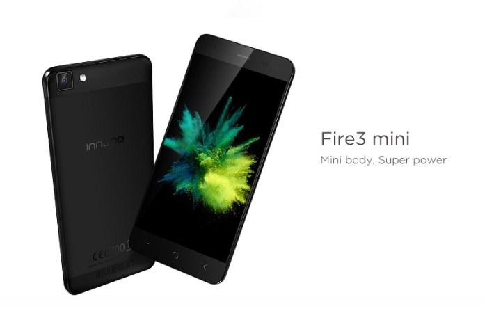 Innjoo V1, Innjoo Fire 3 Mini: Specification