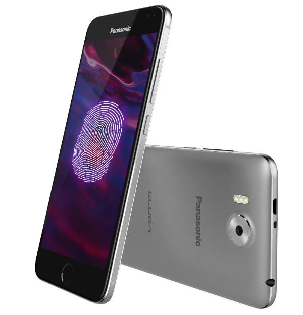 Panasonic Eluga Prim 4G VoLTE Smartphone with fingerprint sensor