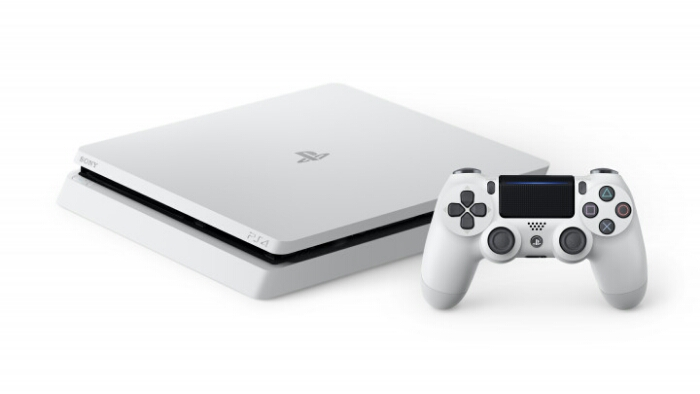 Glacier White PS4 Slim Now Available