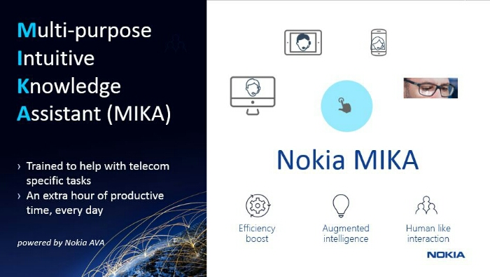 Nokia announces MIKA, Digital Assistant For Engineers and Telecom Operators