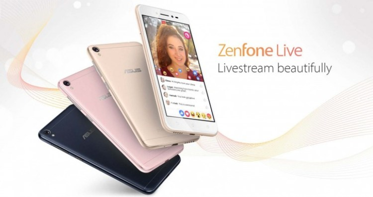 ASUS Zenfone Live (ZB501KL) Debuts With BeautyLive app, ZenUI 3.0