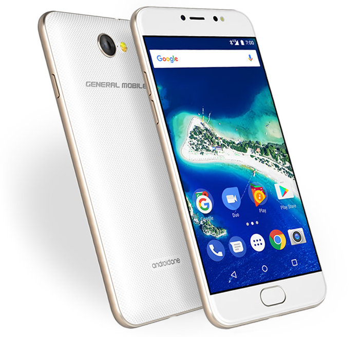 General Mobile GM 6 Android One Smartphone With 13MP PDAF Camera