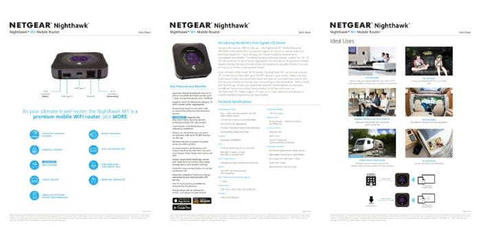 Netgear Nighthawk M1 Mobile Router Supports Telstra's 4G Gigabit Network