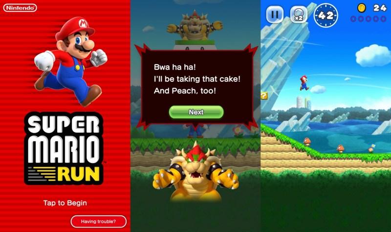 Super Mario Run for Android TGF
