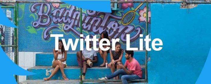 Twitter LIte For Emerging Markets; India
