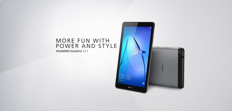 Official: Huawei MediaPad T3 (8.0 and 7.0) Android Tablets