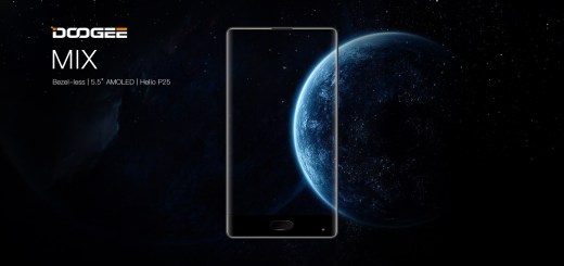 Official: Doogee MIX with Edge-to-Edge Display, Helio P25 SoC, Dual Rear Cameras