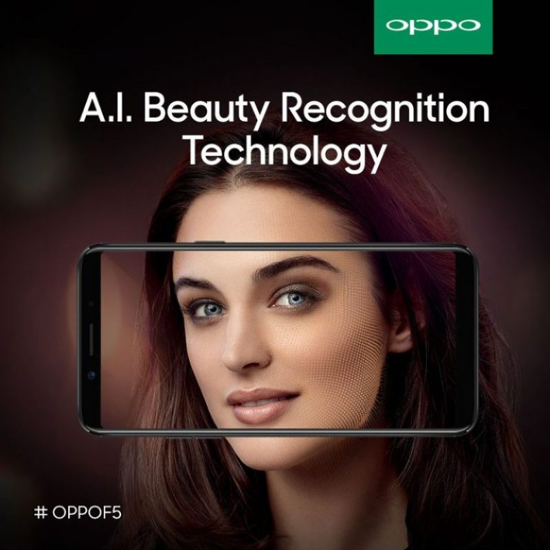Oppo F5 Launch Set For October 26; FullScreen Display and AI Beauty Tech Tipped