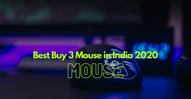 Best Buy 3 Wireless Mouse in India 2020