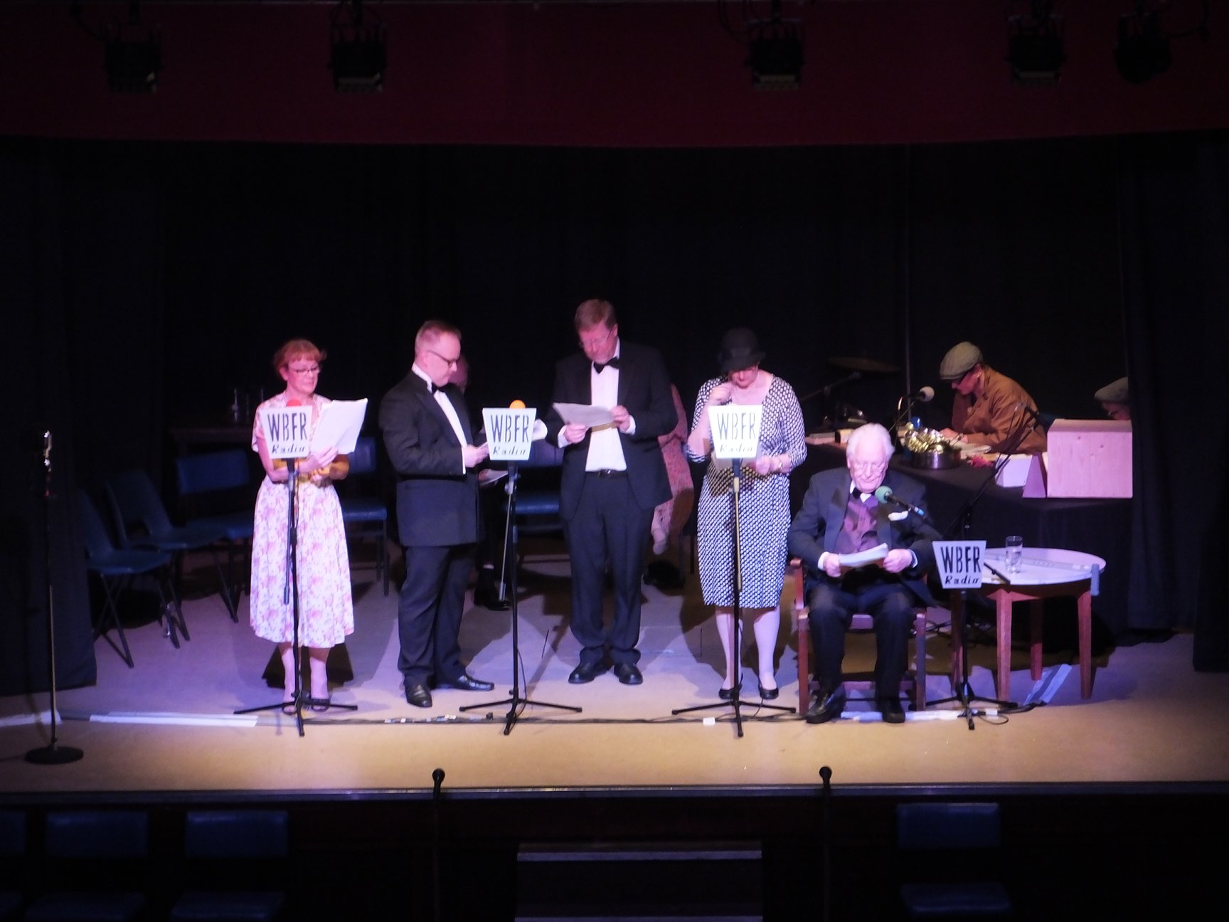 Vintage Hitchcock – A Live Radio Play   THE GAGE PLAYERS