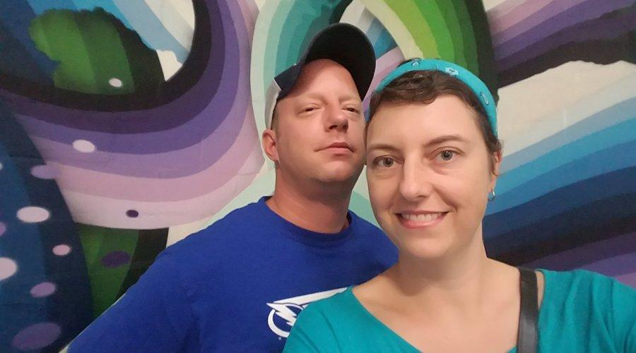 Mike & Gail in St Pete, FL