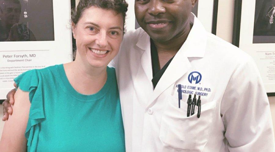Me & Dr Etame
