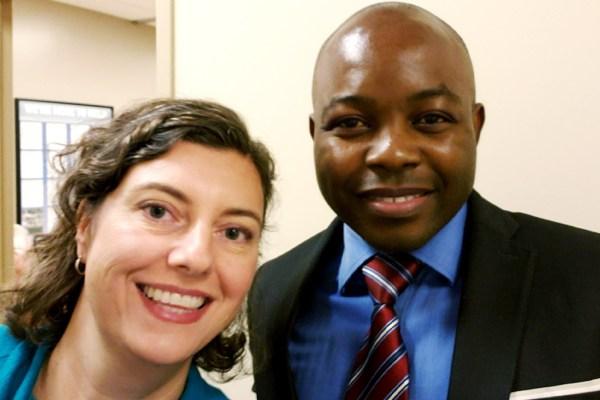 Me & Dr. Arnold Etame