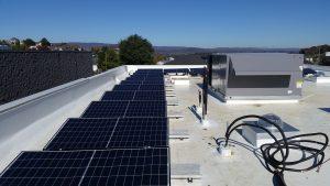 solar photo-voltaic dairy queen