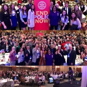Rotary Club of Rockingham County end polio now