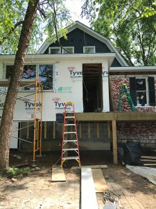 Franklin Street renovation