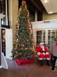 Santa at the Depot
