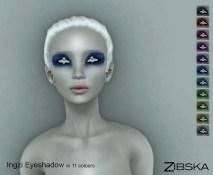 Zibska ~ Ingzi Eyeshadows