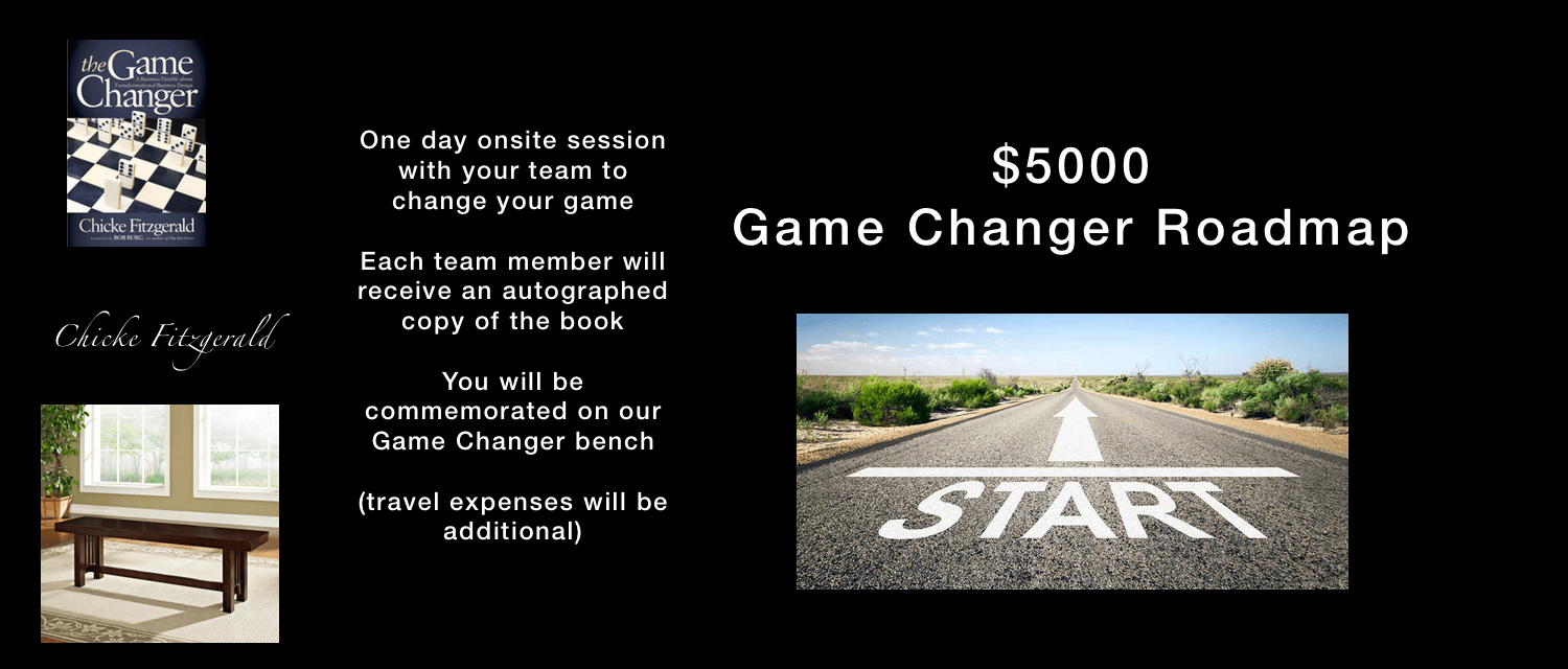 The Game Changer Roadmap