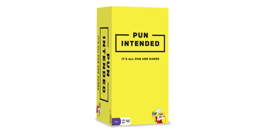 Box for the Pun Intended game