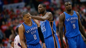 Oklahoma City Thunder v Los Angeles Clippers - Game Three