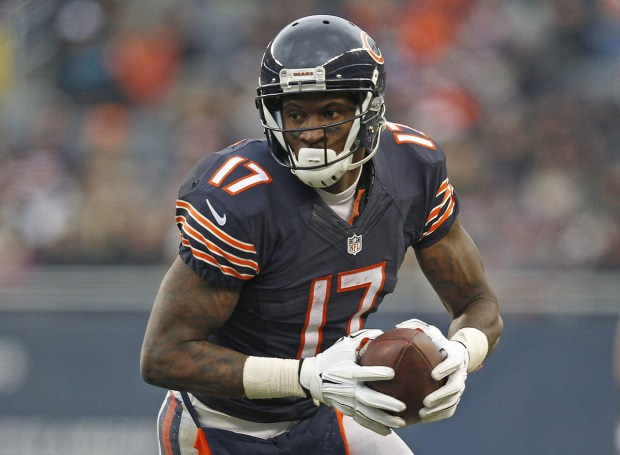 The Philadelphia Eagles are interested in adding Alshon Jeffery as their top wide receiver. (AP)