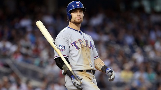 Josh Hamilton is trying to make the Rangers roster this spring, but will his knees allow him the fair chance? (Getty Images)