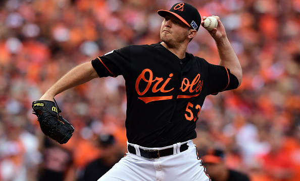 The Orioles made Zach Britton a multi-year offer before he agreed to a one-year contract for the 2017 season. (Patrick Smith/Getty Images)