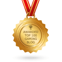 The Game Fanatics is a Top 100 Gaming Blog!