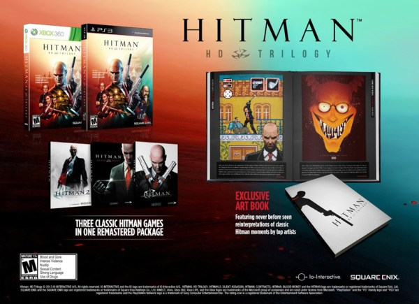 A look at the Hitman HD Release coming early next year from Square Enix