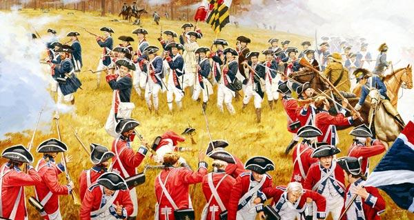 It's kind of like the Revolutionary War (I'll let you decide who is who in this).
