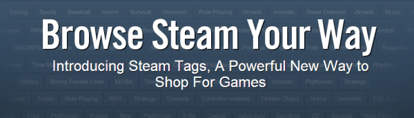 Steam Tags: A Powerful New Way to Shop For Games