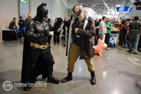 PAX East 2014 - Batman VS Bane Cosplay (2)